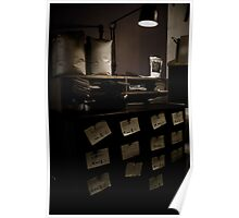 Old coffee drawer Poster