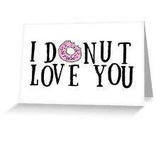 Donut Love Greeting Card