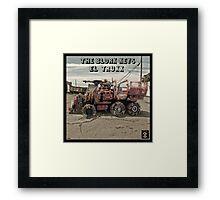 The Blork Keys - El Trukk Framed Print