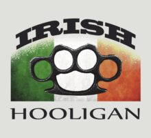irish hooligan flag brass knuckles by hottehue