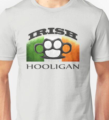 irish hooligan flag brass knuckles Unisex T-Shirt