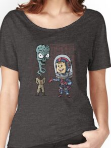 SpaceKid and General TangyRelish of the Neckadon Army Women's Relaxed Fit T-Shirt