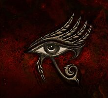 Eye of Horus , Symbol Wisdom & Truth, Protection Amulet by nitty-gritty