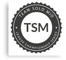 Vintage TSM Boyscout Badge Dark Canvas Print
