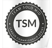 Vintage TSM Boyscout Badge Dark Poster