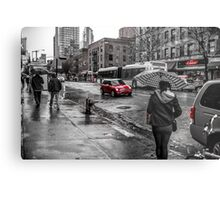 Mini Cooper in New York Metal Print