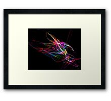 Flaming Colour-Available As Art Prints-Mugs,Cases,Duvets,T Shirts,Stickers,etc Framed Print