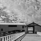 Queenscliff Pier by Steven  Agius