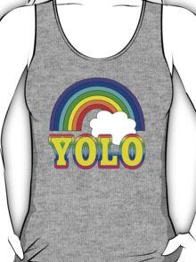 YOLO with Rainbow T-Shirt