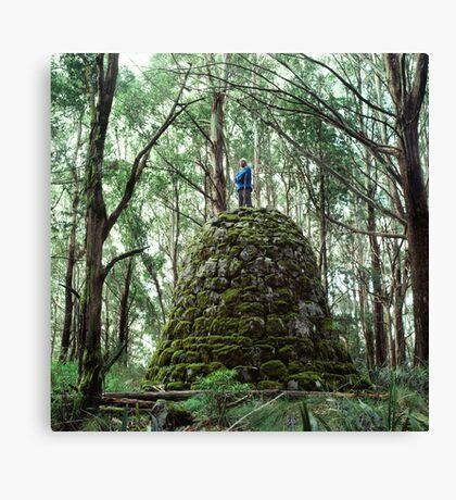 Mount Juliet Cairn, Yarra Ranges, Victoria. Canvas Print