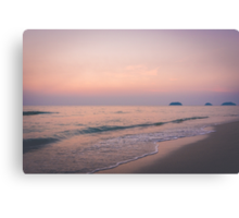 Pastell Sunset Canvas Print
