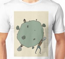 And So He Carried The World Unisex T-Shirt