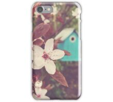 Blossom and Birdhouse iPhone Case/Skin