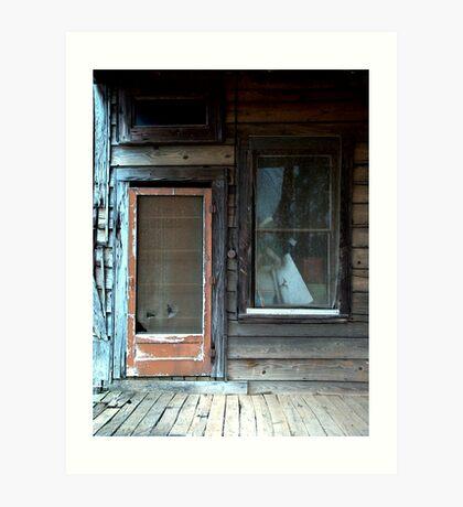 """""""Screen Door"""" Art Print"""