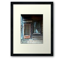 """Screen Door"" Framed Print"