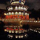 China Pavillion Epcot   by John  Kapusta