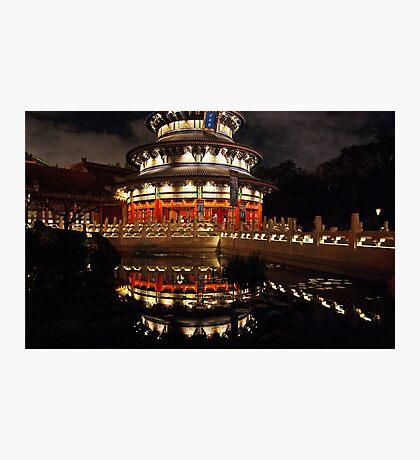 China Pavillion Epcot   Photographic Print