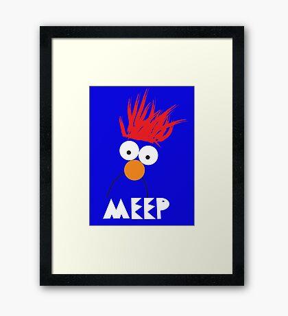 Beaker MEEP Framed Print
