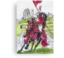 The Tournament Knight Canvas Print