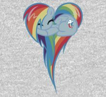 Heart Of Rainbow Dash Kids Clothes