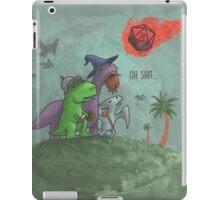 Critical Damage! iPad Case/Skin