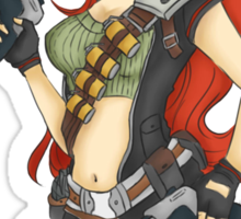 Special Forces Miss Fortune Sticker