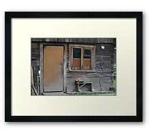 My Grandmother house (Lithuania) Framed Print