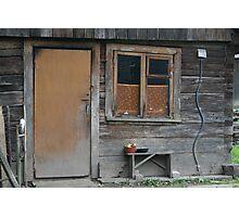 My Grandmother house (Lithuania) Photographic Print