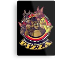 Welcome To Freddy Fazbear's Pizza! Metal Print