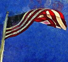American Flag by ClaireBull