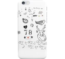 Louis Tattoos iPhone Case/Skin