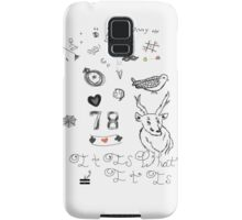 Louis Tattoos Samsung Galaxy Case/Skin