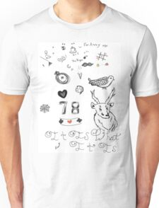 Louis Tattoos Unisex T-Shirt