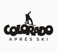 Colorado Apres Ski Snowboarding Design Kids Clothes