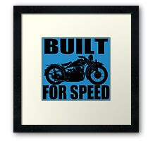 MOTORCYCLE-1930'S Framed Print