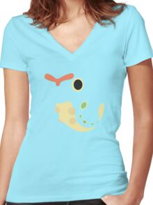 Caterpie Women's Fitted V-Neck T-Shirt