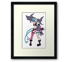 Jinx League of Legends Framed Print