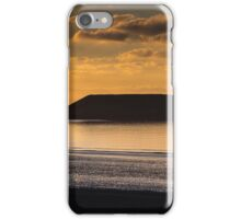 Sunset at Worm's head  iPhone Case/Skin