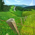 A Fence Post by Jason Cavanagh