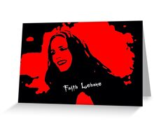 Faith Lehane Greeting Card