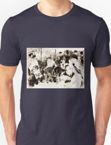 """Trace Monotype after Renoir's """"The Luncheon Of The Boating Party"""" T-Shirt"""