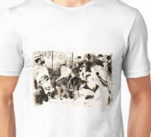 "Trace Monotype after Renoir's ""The Luncheon Of The Boating Party"" Unisex T-Shirt"