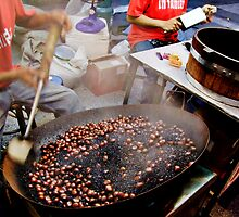 Roasting Chestnuts by Dave Lloyd