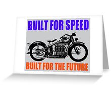 MOTORCYCLE (1930'S)-2 Greeting Card
