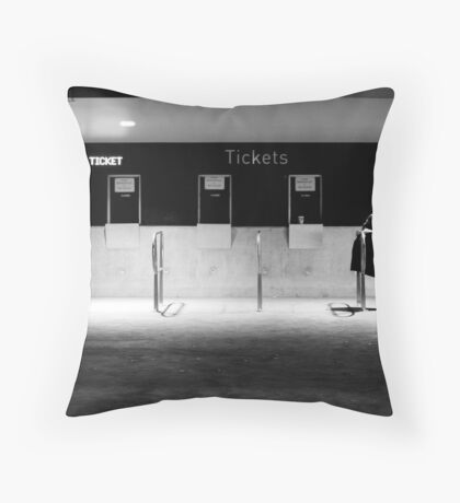 No more Tickets Throw Pillow