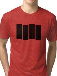 Black F Tri-blend T-Shirt