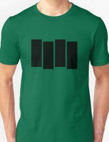 Black F Unisex T-Shirt
