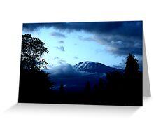dawn kilimanjaro Greeting Card