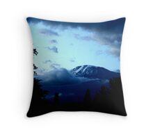 dawn kilimanjaro Throw Pillow