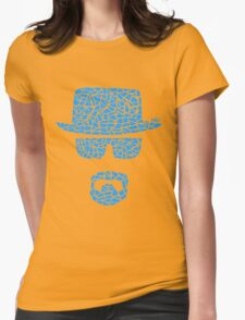 Breaking bad Crystal Meth Womens Fitted T-Shirt